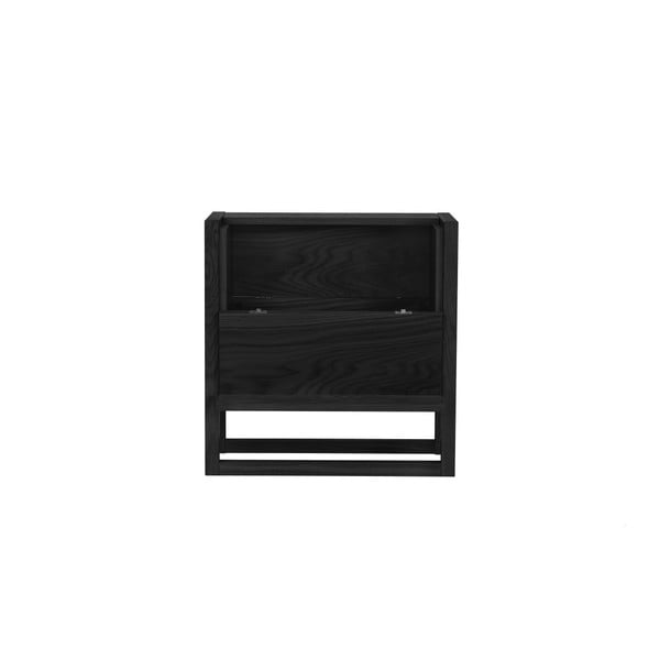Černý barový stolek Woodman NewEst