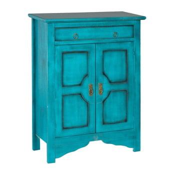 Comodă înaltă Evegreen House Credenza, albastru