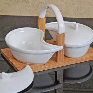 Sada na omáčky Bamboo Porcelain
