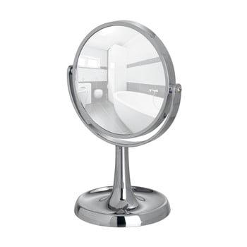 Oglindă cosmetică cromată Wenko Rosolina, înălțime 28 cm de la Wenko