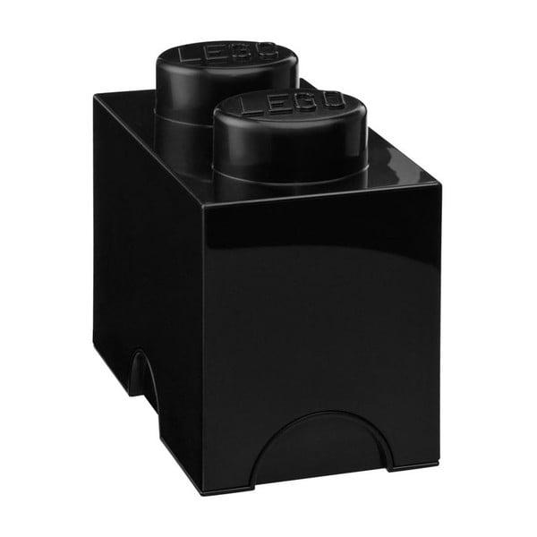 Cutie depozitare LEGO®, negru