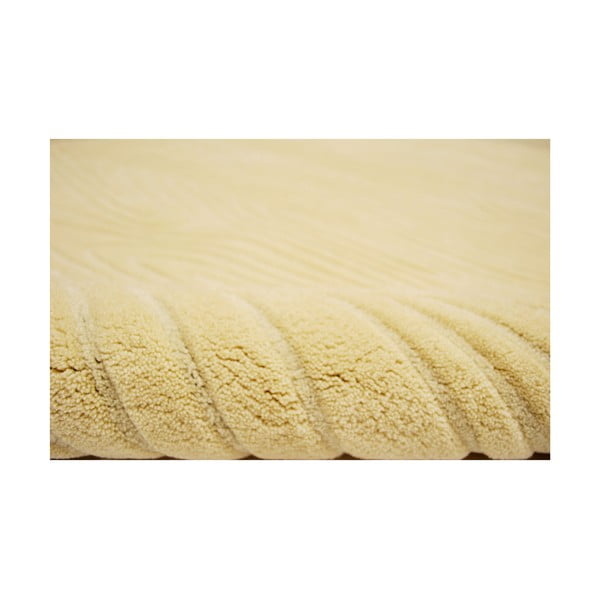 Ručně tkaný koberec Zen, 140x200 cm, béžový