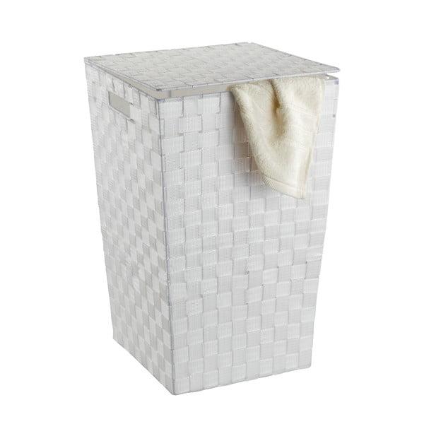Bílý koš na prádlo Wenko Adria