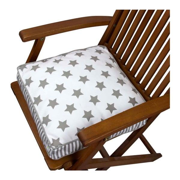 Pernă pentru scaun Gravel Star Sky Light, 42x42cm,cuumplutură
