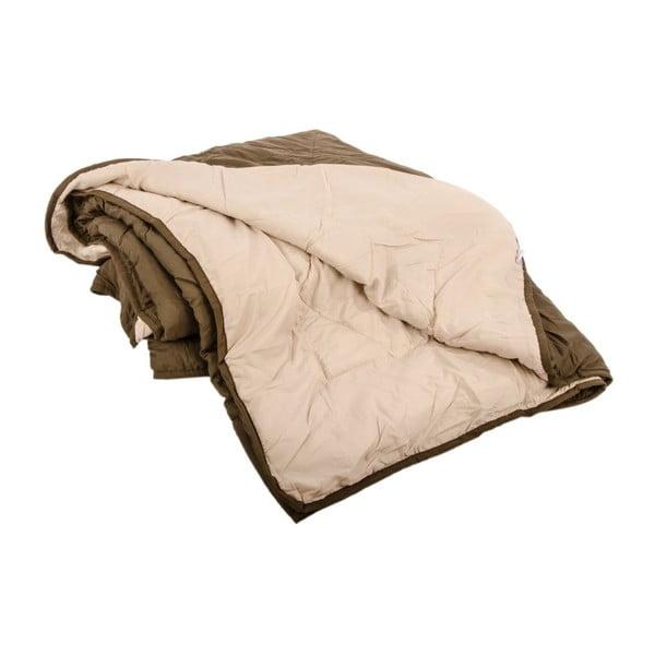 Přehoz na postel Duveta Cacao, 240x260 cm