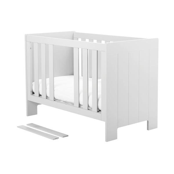 Calmo fehér kiságy, 120 x 60 cm - Pinio