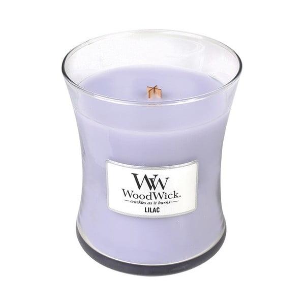 Świeczka zapachowa WoodWick Bez, 55 h