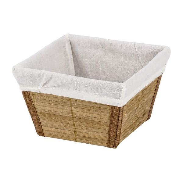 Bambusový košík Wenko Bamboo, šířka15cm