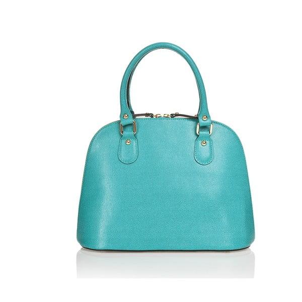 Kožená kabelka Miranda, světle modrá
