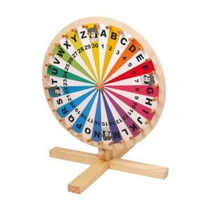 Dřevěné kolo štěstí Legler Wheel Of Fortune