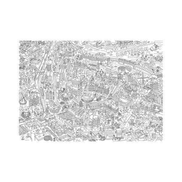 Omalovánka OMY Amsterdam (70 x 100 cm)