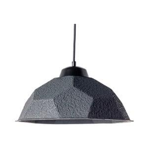 Černé závěsné svítidlo se stínidlem z recyklovaného papíru Design Twist Mosen