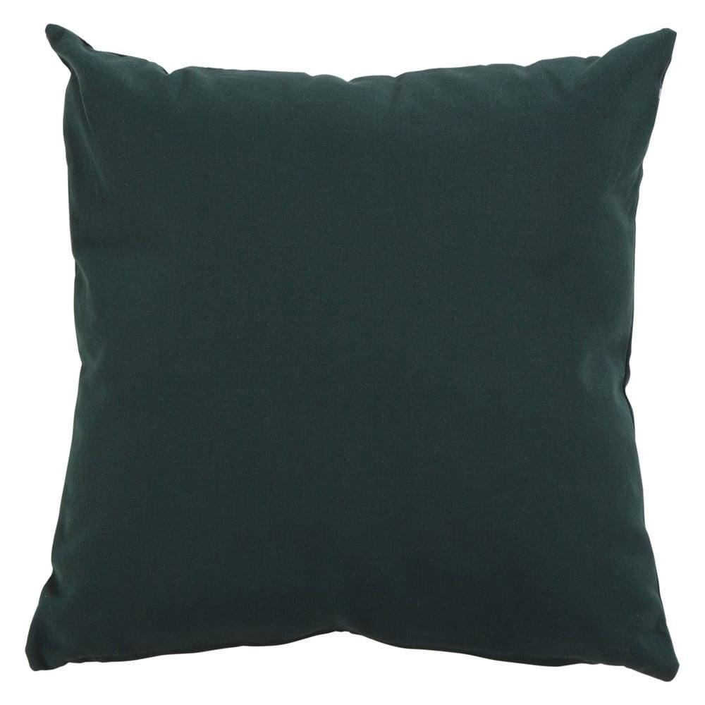 Tmavě zelený zahradní polštář Hartman Havana, 50x50cm