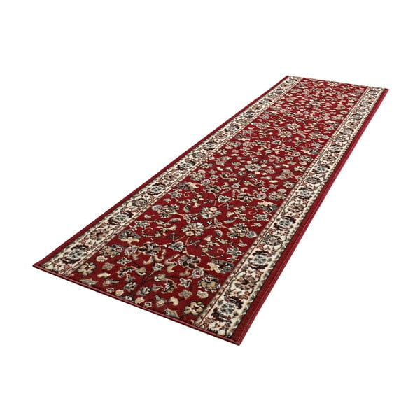 Koberec Basic Vintage, 80x500 cm, červený