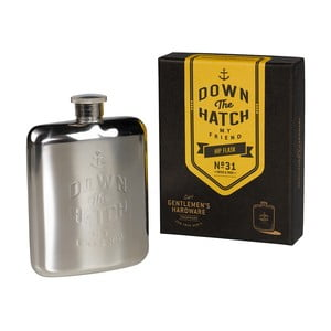 Sticlă portabilă Brass Gentlemen's Hardware, 175 ml