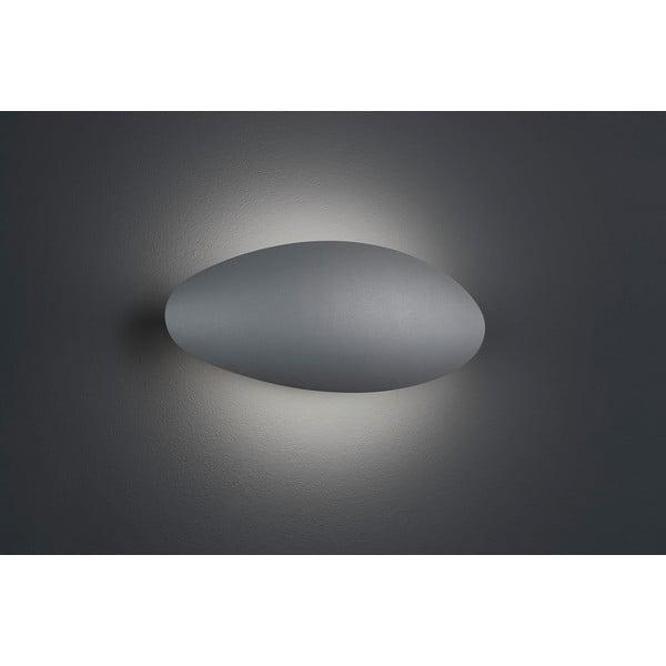 Venkovní nástěnné světlo Missouri Titanium, 26 cm