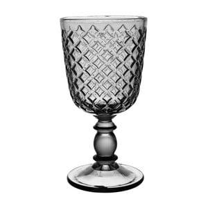 Šedá sklenice Côté Table Arlequin, 280ml