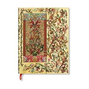 Zápisník s tvrdou vazbou Paperblanks Tuscan Sun, 18x23cm