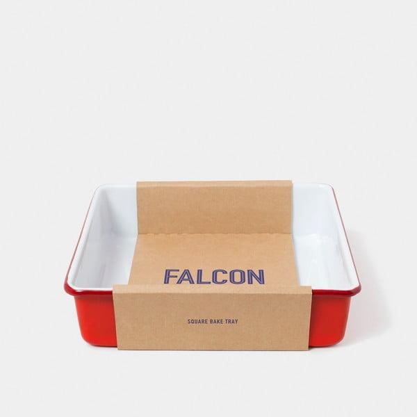 Červená smaltovaná zapékací mísa Falcon Enamelware
