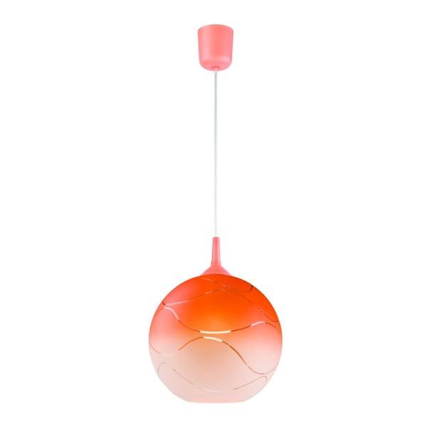 Waves narancssárga gömb függőlámpa - Lamkur