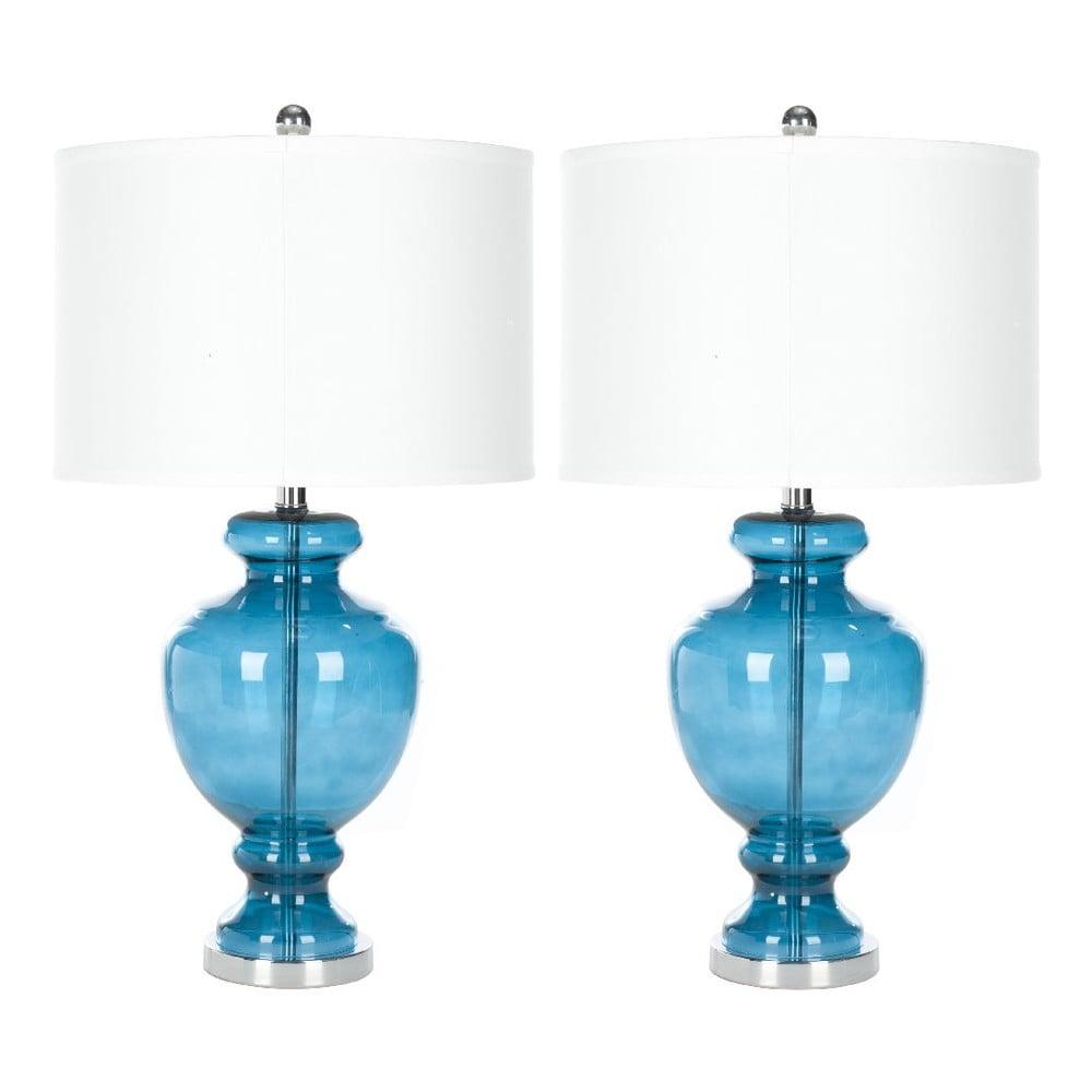 Sada 2 stolních lamp Safavieh Turquoise