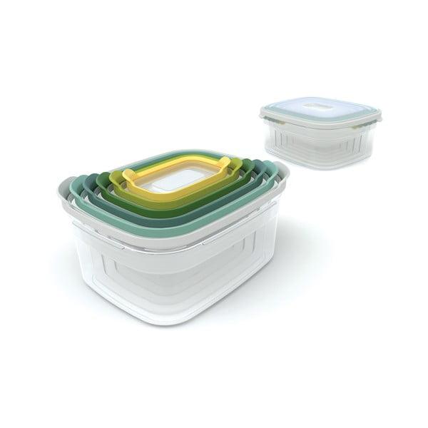 Sada 6 krabiček na jídlo Joseph Joseph Nest Opal