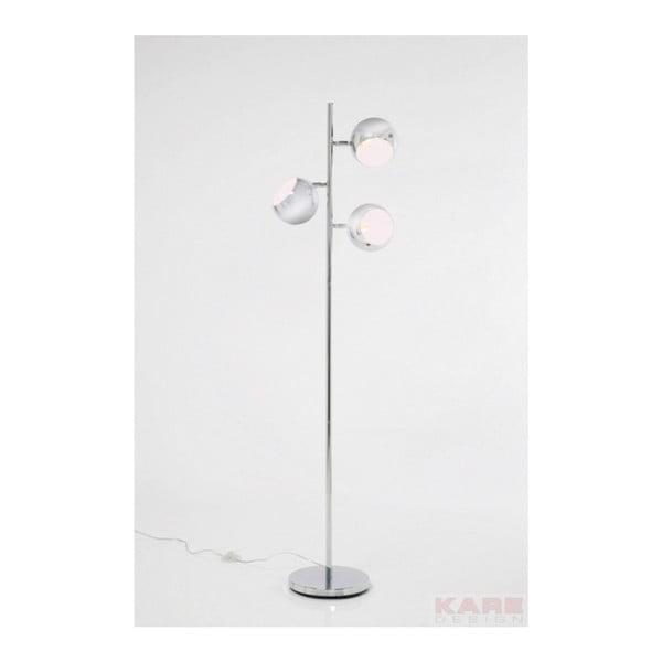 Stojací lampa v chromové barvě Kare Design Calotta
