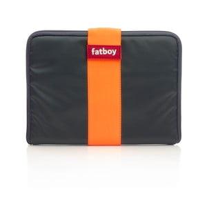 Antracitovo-oranžový obal na tablet Fatboy Tuxedo