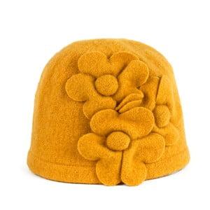 Čepice Flowers Yellow