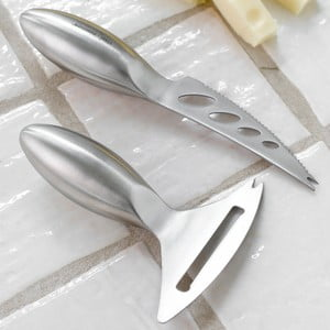 Sada 2 nožů na sýry Steel Function