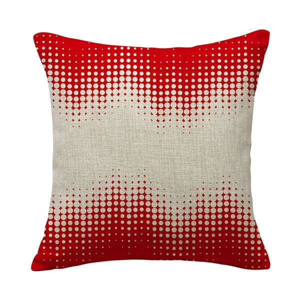 Polštář Expansion Red, 45x45 cm