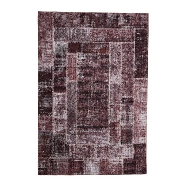 Covor Floorita Montage Brown, 80 x 150 cm