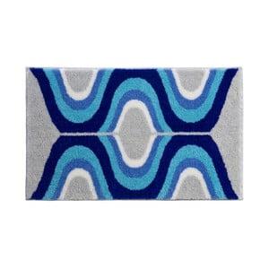Koupelnová předložka Kolor My World XVII 70x120 cm, modrá