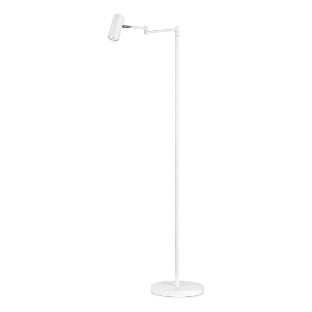 Bílá volně stojící lampa Markslöjd Torino Floor White