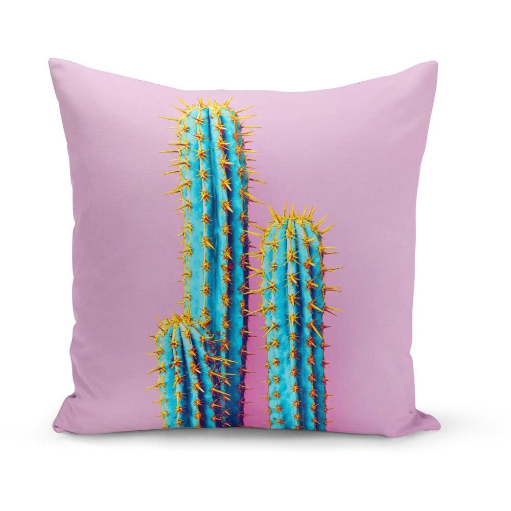 Polštář Kate Louise Cactus Art, 43 x 43 cm