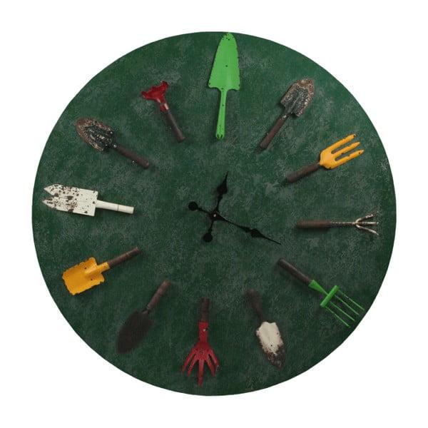 Nástěnné hodiny Garden Tools
