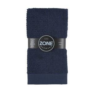 Tmavě modrý ručník Zone 100x50 cm