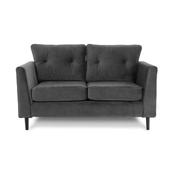 Canapea cu două locuri VIVONITA Portobello, gri de la Vivonita