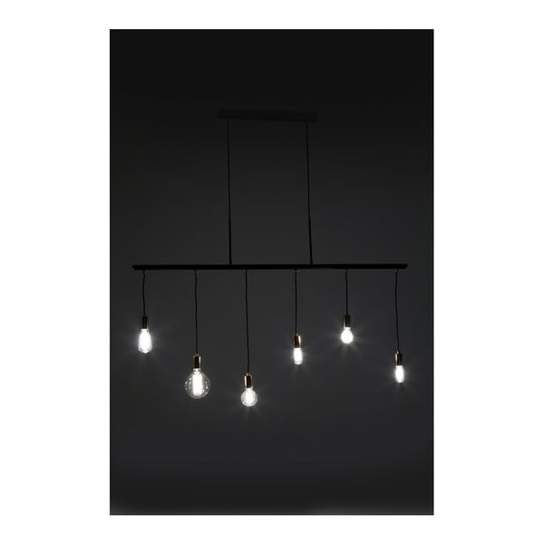 Černé závěsné svítidlo Kare Design Pole