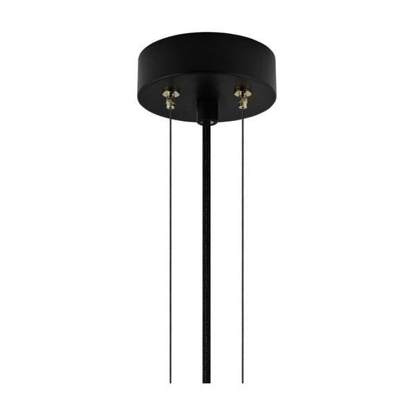 Závěsná lampa v měděné barvě Bulb Attack Cuatro, průměr60cm