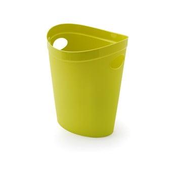 Coș de gunoi pentru hârtie Addis Flexi, 27 x 26 x 34 cm, verde lime imagine