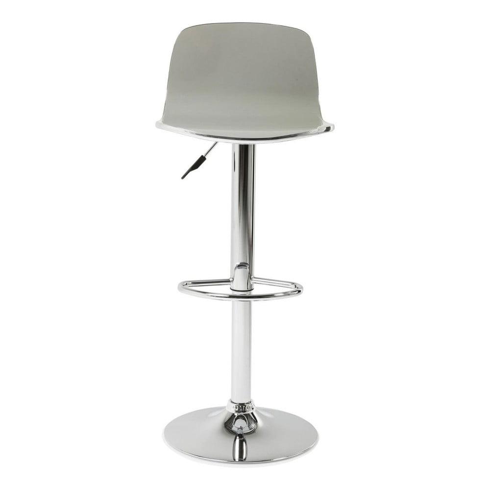 Šedá barová židle Kare Design Dimensionale