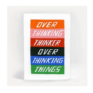 Poznámkový blok U Studio Design Overthinking