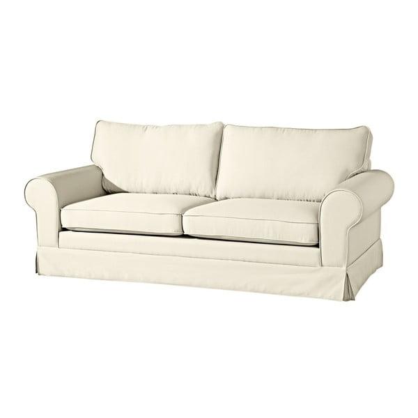Hillary krémszínű háromszemélyes kanapé - Max Winzer
