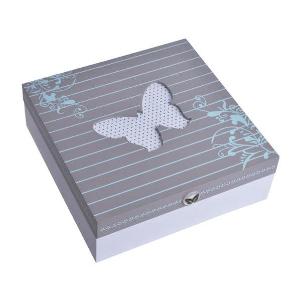 Dřevěný box Butterfly