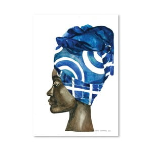 Plakát African Pride II, 30x42 cm