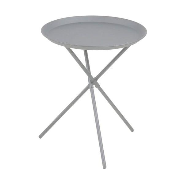 Šedý odkládací stolek Actona Clipston