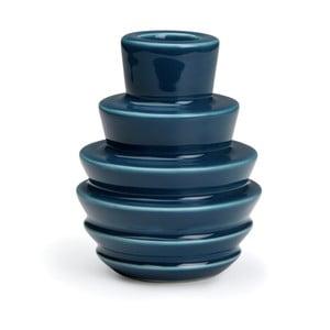 Suport lumânare Kähler Design Cono, albastru