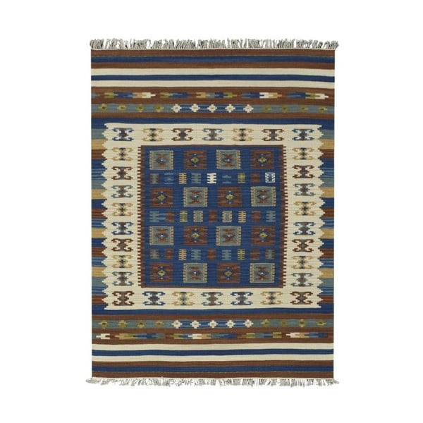 Ručně tkaný koberec Kilim Classic 19121 Mix, 95x155 cm