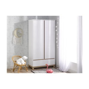 Bílá šatní skříň BEBE Provence Escapade